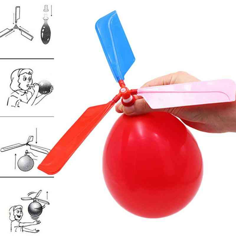 Classic Sound Balloon Helicopter Ufo - Flying Ball Outdoor Fun Sports Toy