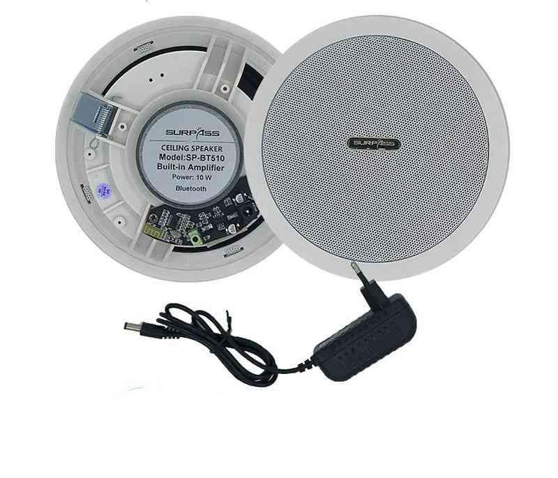 Waterproof Built In Digital Class D Amplifier Bluetooth & Ceiling Speaker
