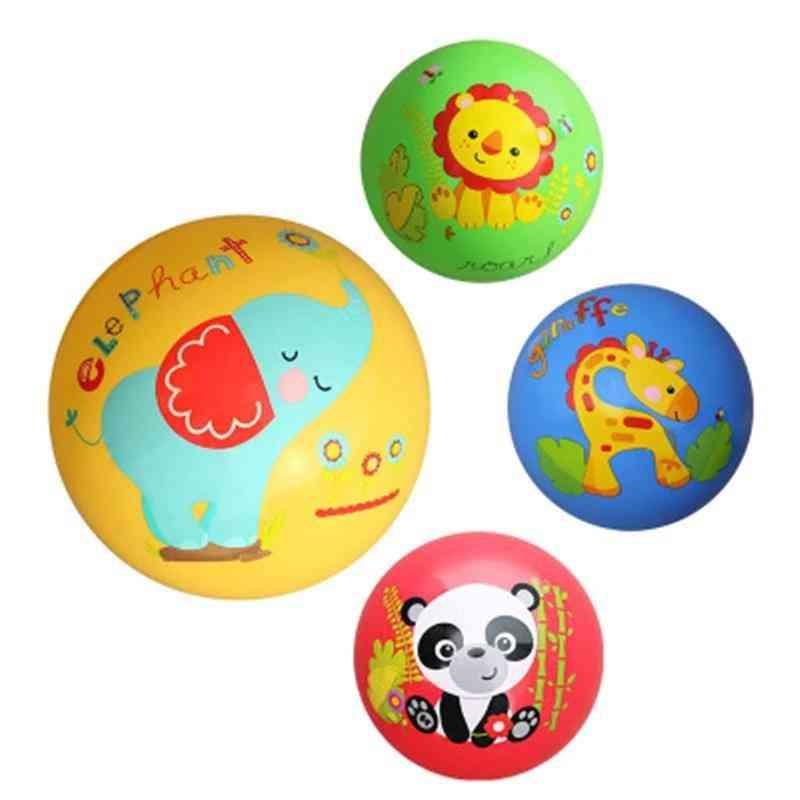 Fisher Racket Cartoon Ball - Training Baby Body Coordination Racket Toy