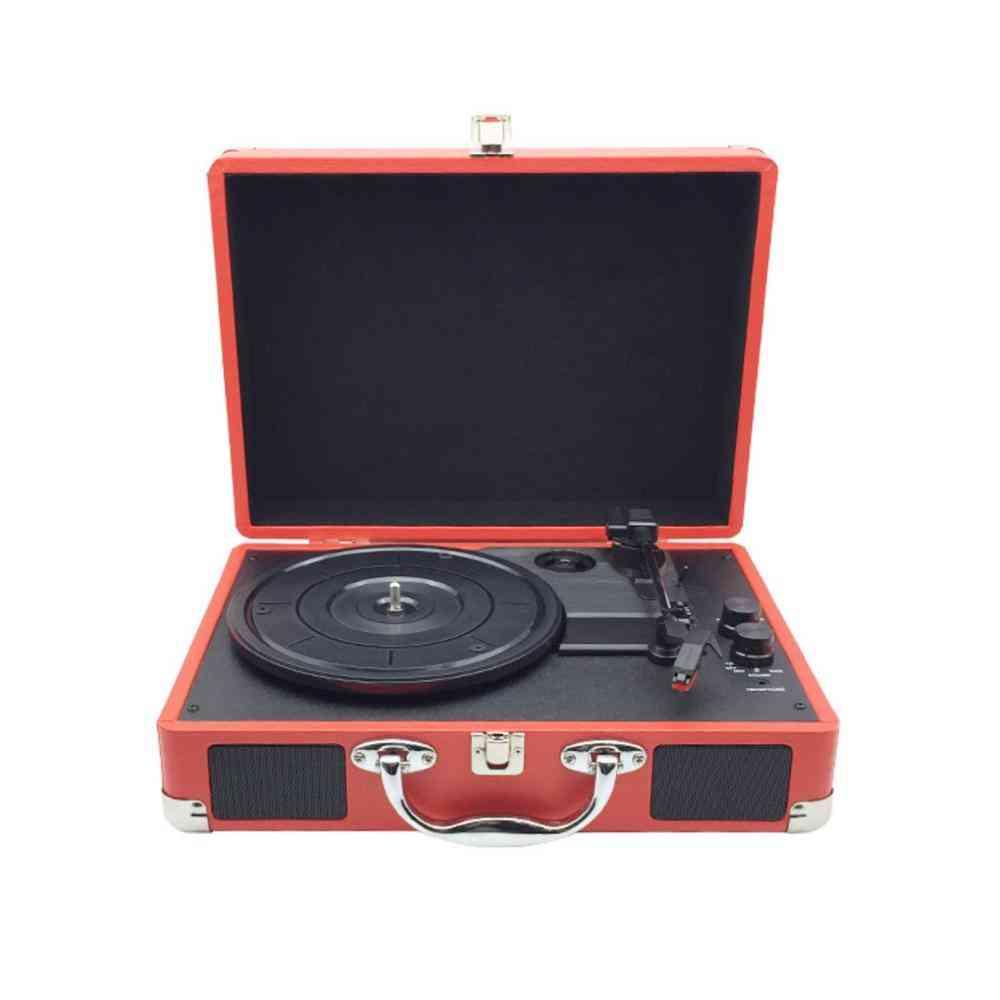 Turntable Vinyl Lp Record Phone Player