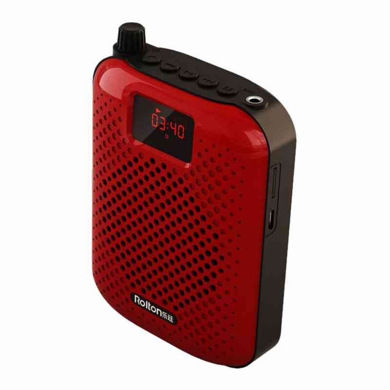 Microphone Bluetooth Portable Auto Pairing - Voice Amplifier Megaphone Loudspeaker For Teaching