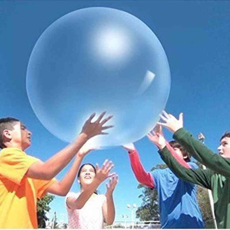 Middle Inflatable Water Balloon Ball Without Air Pump