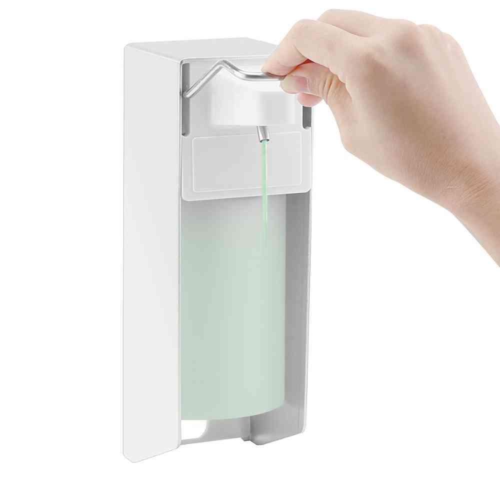 Wall-mount, Manual, Hand Press-soap Dispenser Bottle