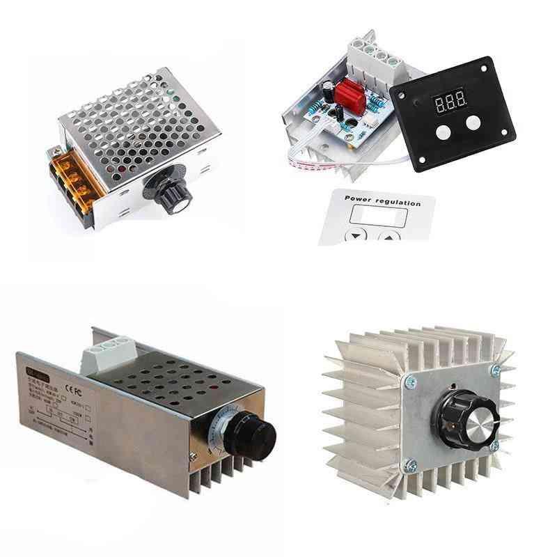 Voltage Regulator- Led Thermostat Dimmer, Motor Speed Controller