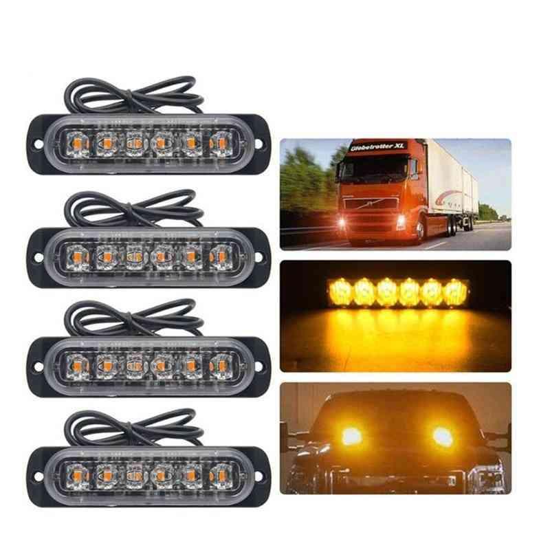 Emergency Grille Police Light  - Car Styling Truck Van Beacon Strobe Warning Flashing