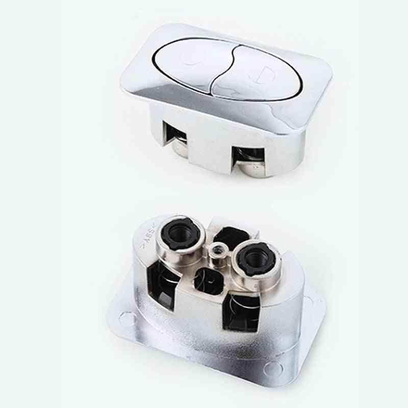 Square Toilet Cistern Push Button
