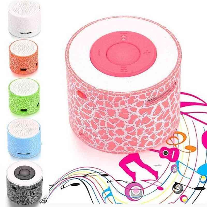 Portable Mp3 Led Light, Music Player Speaker, Support Tf Card