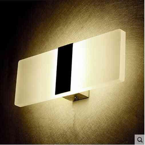 Mini Led Acrylic Long Wall Lamp For Bedroom
