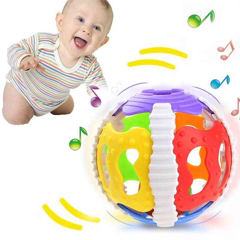 Baby Little Loud Bell Ball And Mobile - Newborn Infant Intelligence Grasping Educational