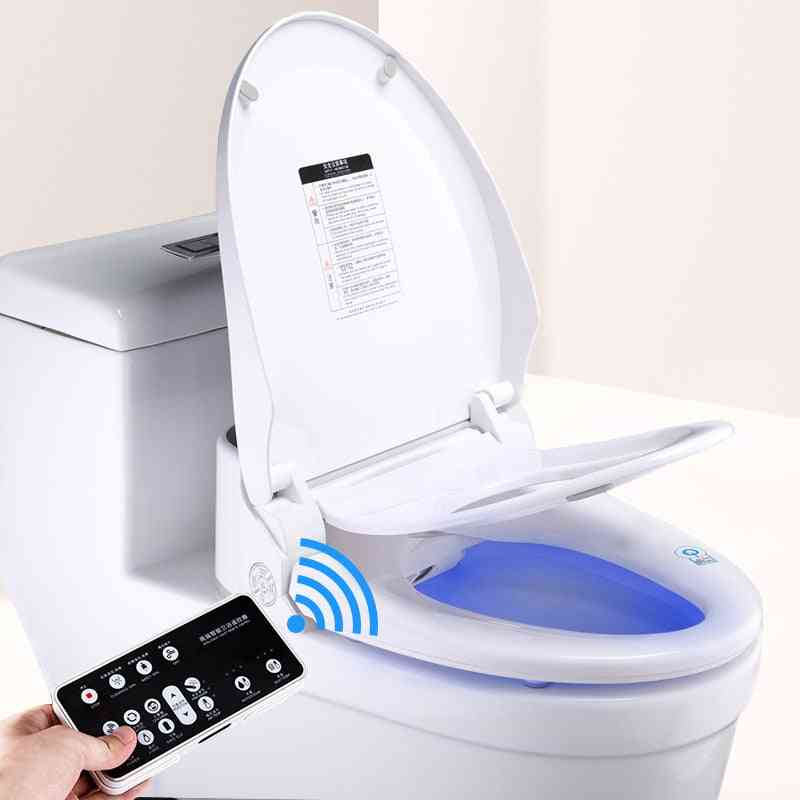 Smart Toilet Seat With Electric Bidet Cover