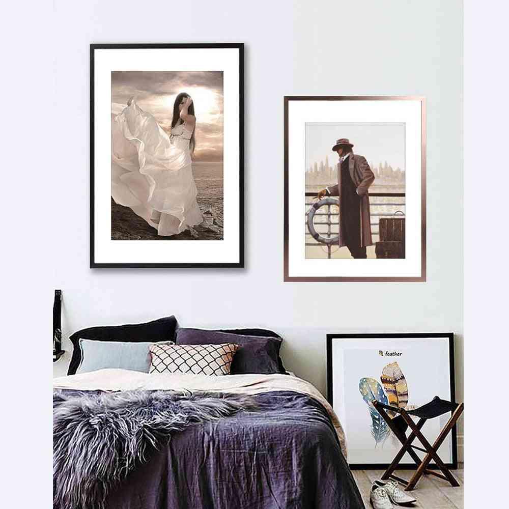 Aluminium Alloy Wall Hanging Photo Frame A4