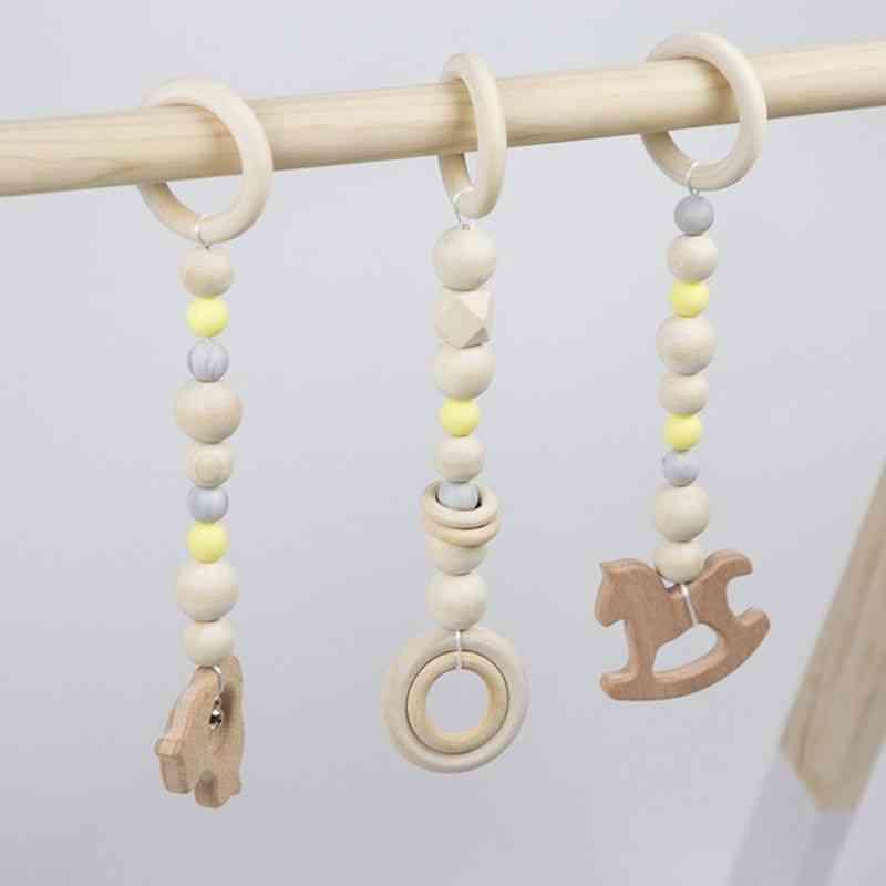 Baby Frame Game Pendants - Sensory Nursery Ring Pull Toy