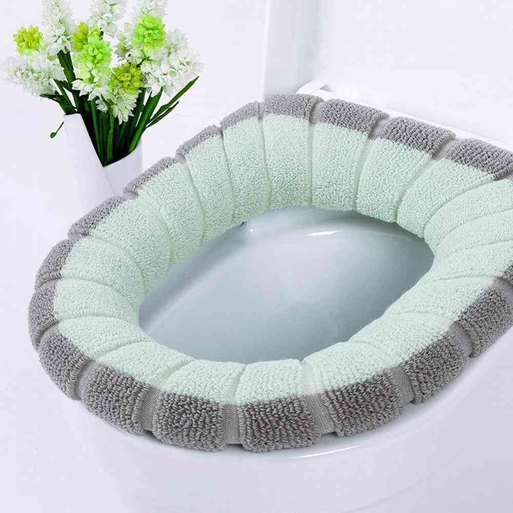Universal Warm Soft Toilet Seat Cover Mat Set