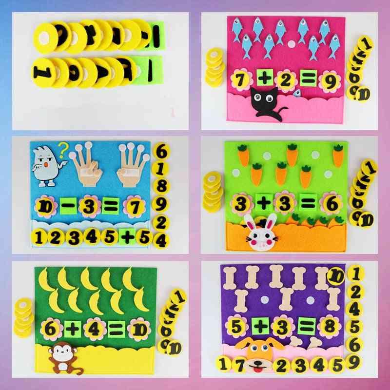 Education Montessori Teaching Aids Math Puzzle