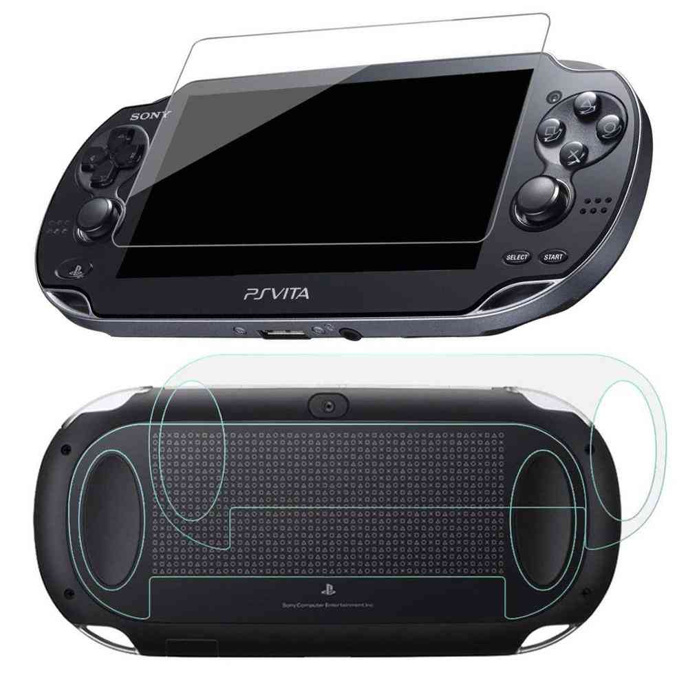 Tempered Glass Clear Full Hd And Screen Protector Cover For Psvita Ps Vita Psv 1000