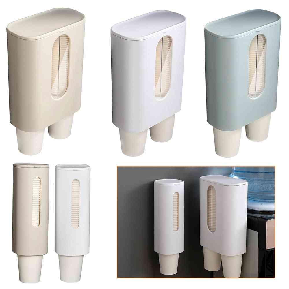 Automatic Disposable Cup Holder And Extractor