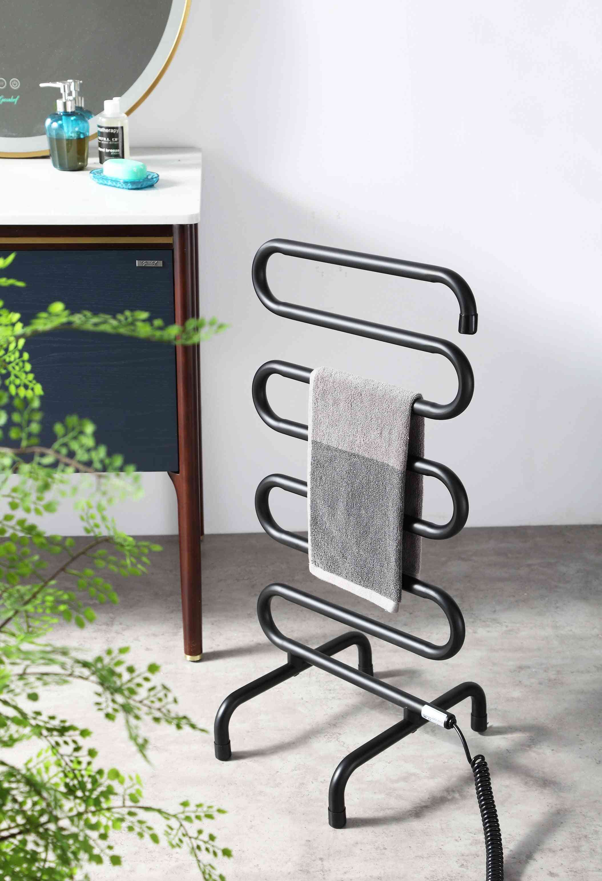 Stainless Steel, Portable And Electric Towel Drying Rack