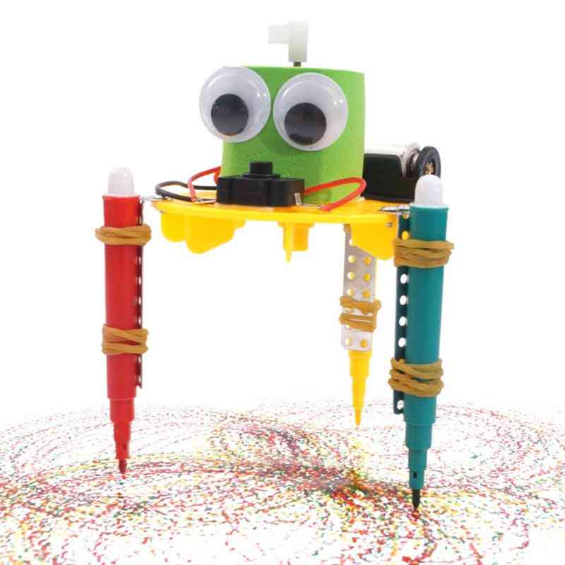 Diy Doodle Robot Technology, Small Inventions - Educational For Kids