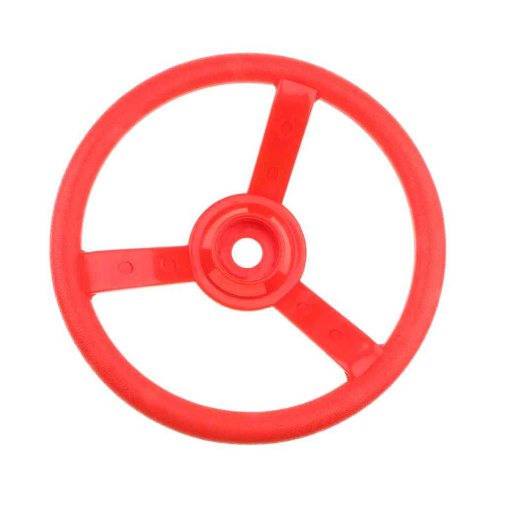 Swingset Steering Wheel Accessories For Playhouse, Jungle Gym And Climbing Frame