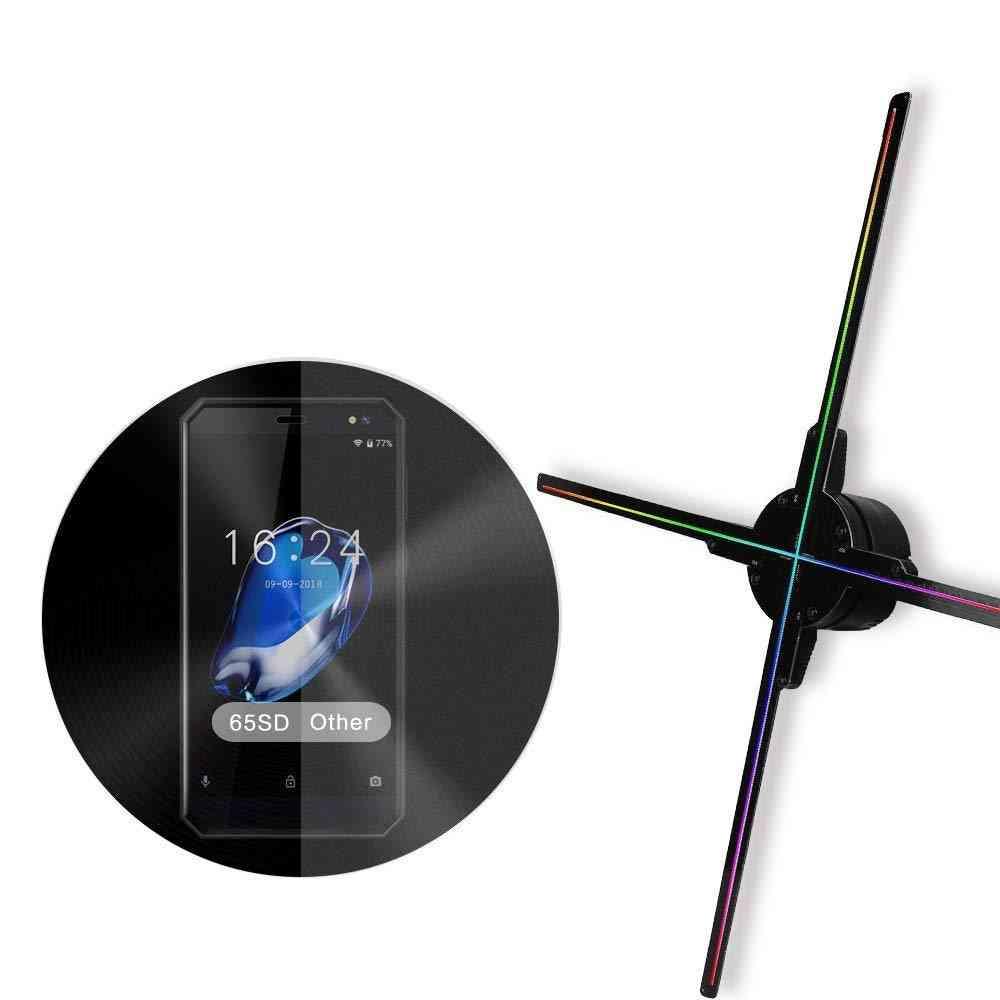 3d Hologram Advertising Display Led Fan Light