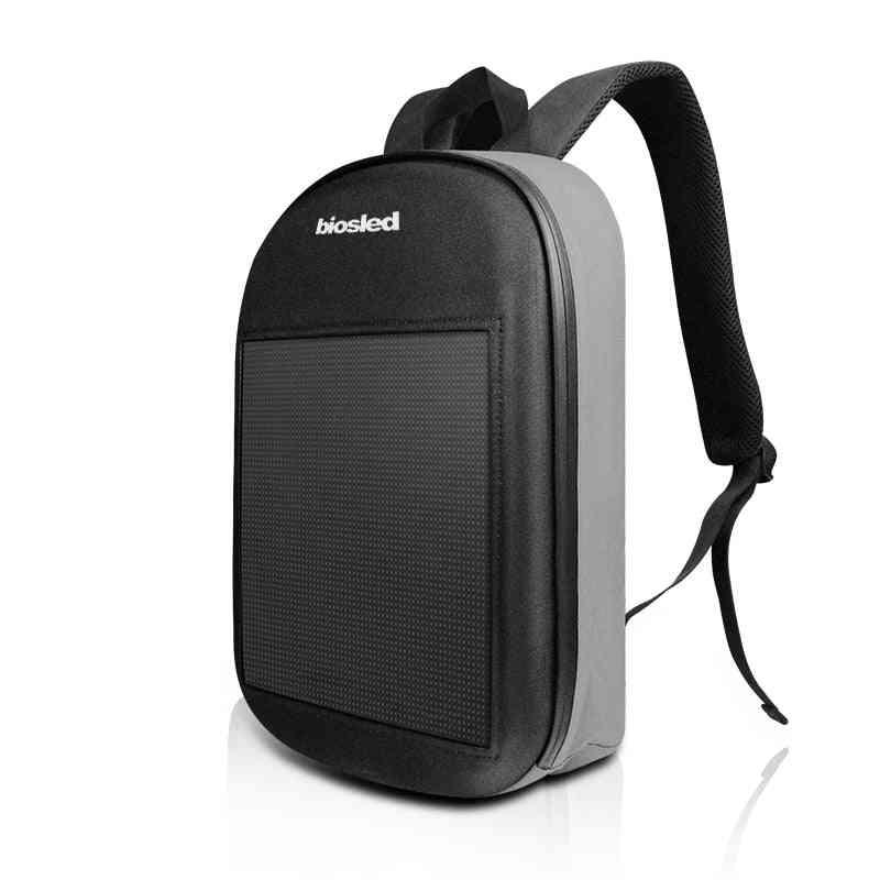 Led Screen Display Backpack - Diy Wireless Wifi App Control Solled