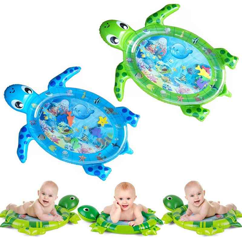 Inflatable Tummy Time Playmat Toddler - Play Center