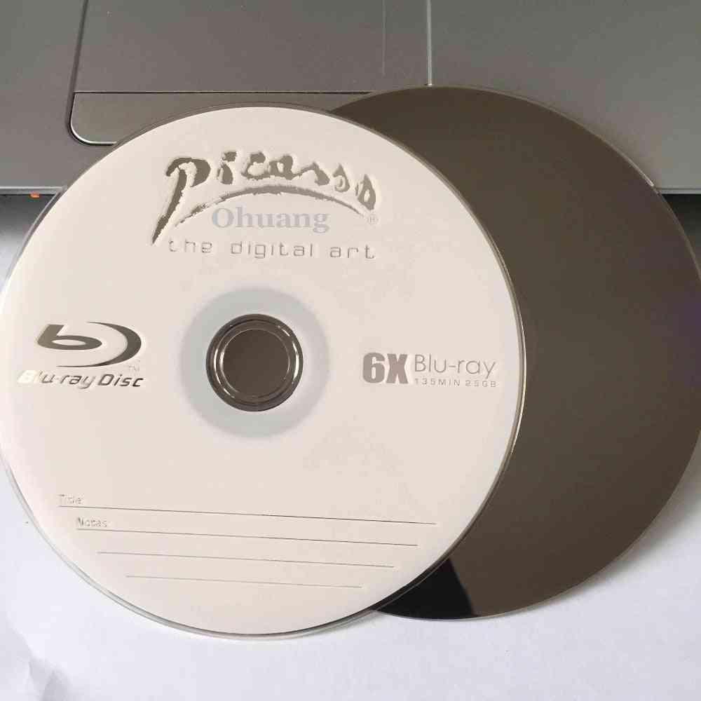 25 Gb Blank Printed, Multi-speed-storage Disks