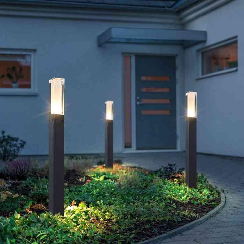 New Style Bollard Pillar Shaped Waterproof Led Lawn Lamp