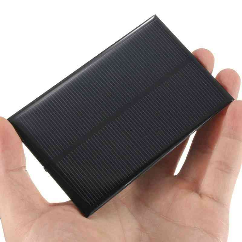 5v 1.25w, 250ma -solar Panel Monocrystalline Silicon, Epoxy Solar Cells Module For Cellphone Battery Charger