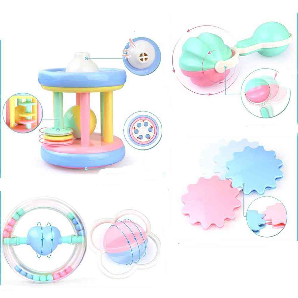 Hand Hold Jingle, Shaking Bell-baby Rattles And Teether