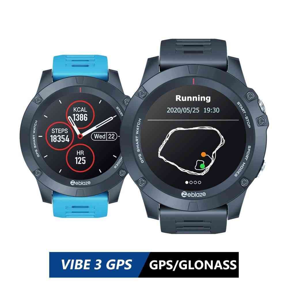 Vibe-3 Gps-smartwatch Heart-rate Multi-sports-modes Waterproof/better Battery Life Gps-watch For Android/ios