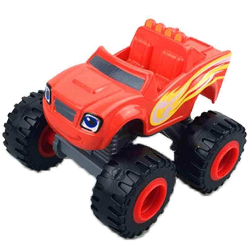 Monster Machines Car - Truck Vehicles Figure Blazed For
