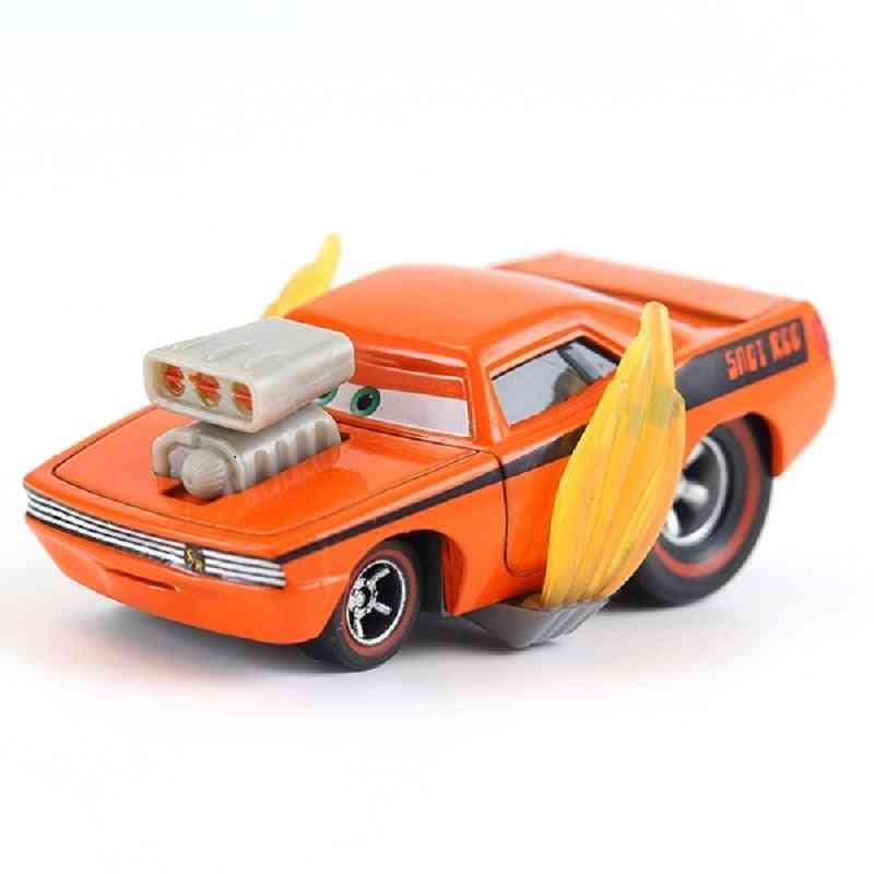 Disney Pixar Cars - Snot Rod,  Dj, Boost & Wingo Metal Diecast Toy