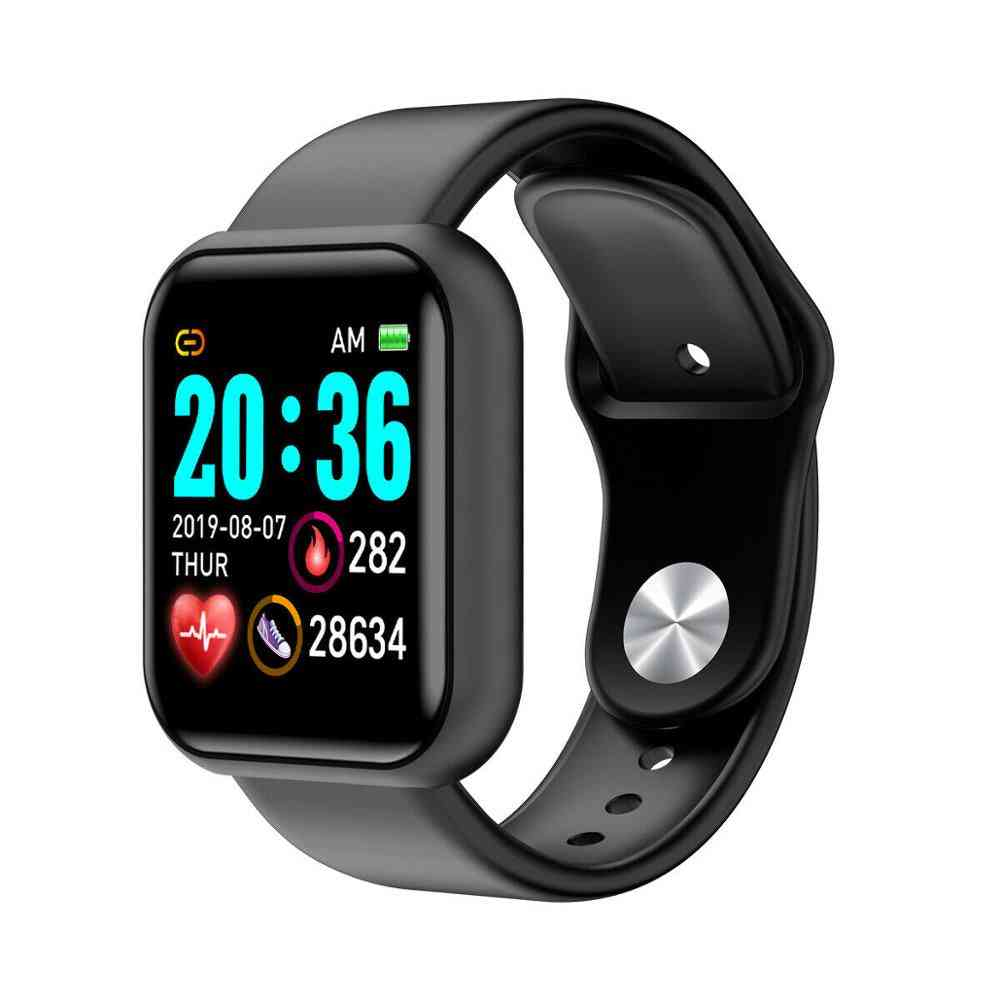 Men Smart Watch - Sport Bluetooth Wristband Blood Pressure Count And Monitoring Heart Rate Fitness Bracelet Tracker
