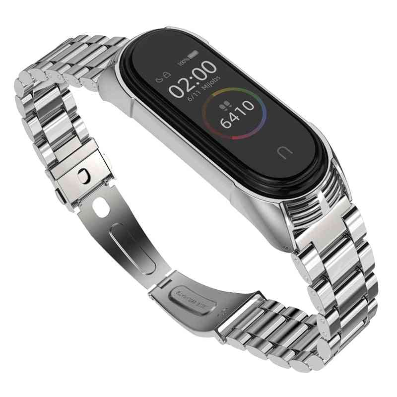 Strap Compatible With Stainless Steel Watch Band
