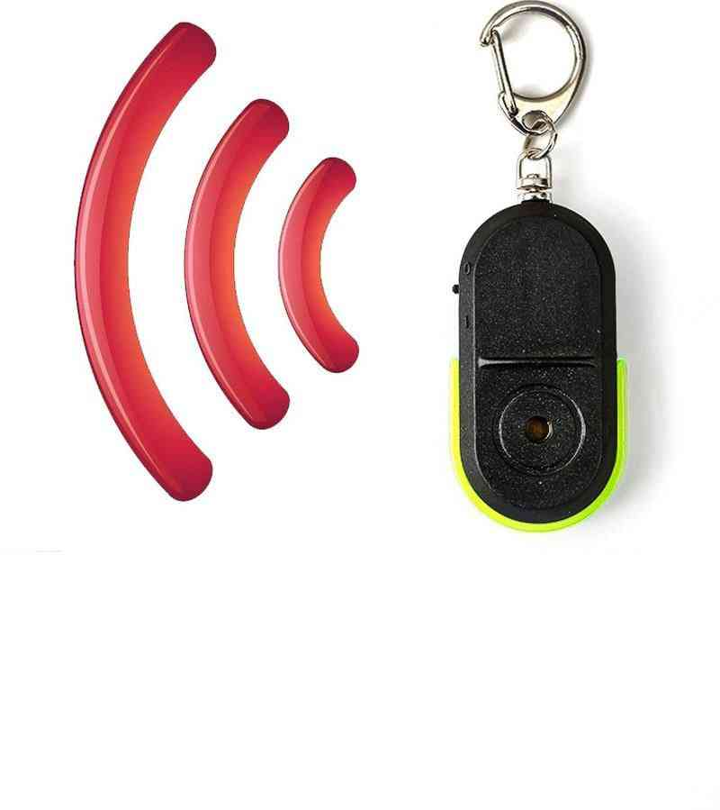Portable Keychain Pattern, Anti-lost Device With Whistle Sound And Led Light