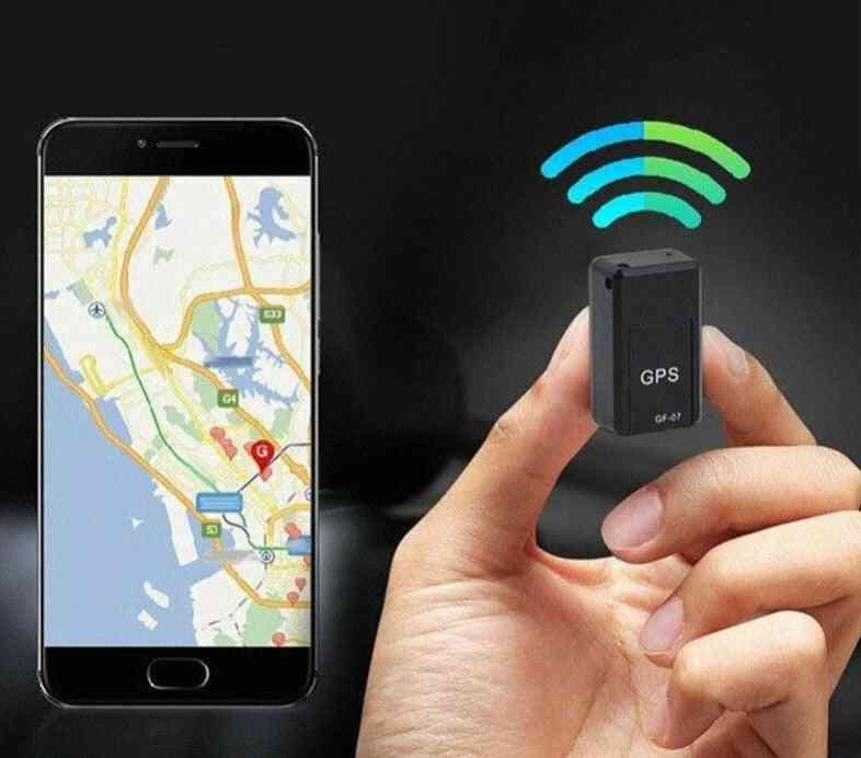 Mini Magnetic Gps Tracker, Anti-theft Device, Smart Locator