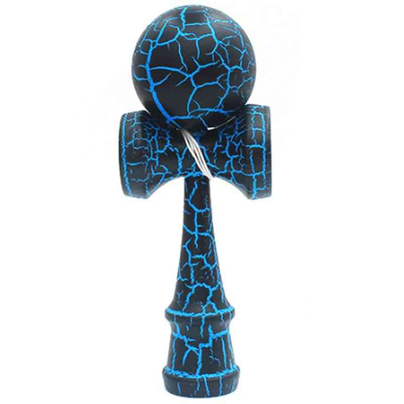 Crak Paint Design- Juggling Wooden Toy Ball For And Adults