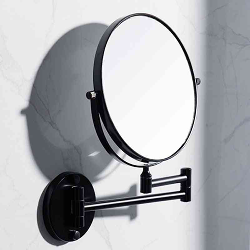 Beauty Wall-mounted Folding Magnifying Makeup Mirror Glass