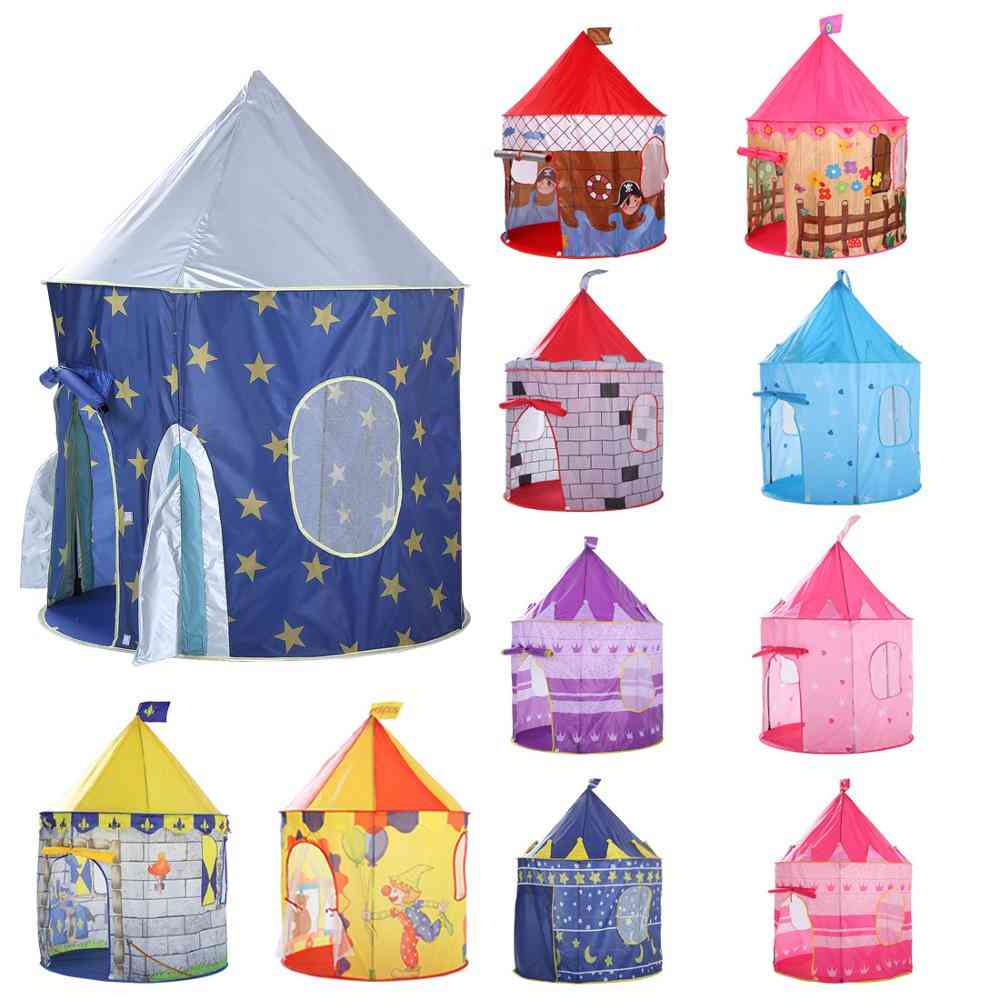 Kids Play Tent Ball - Portable Princess Castle Toy