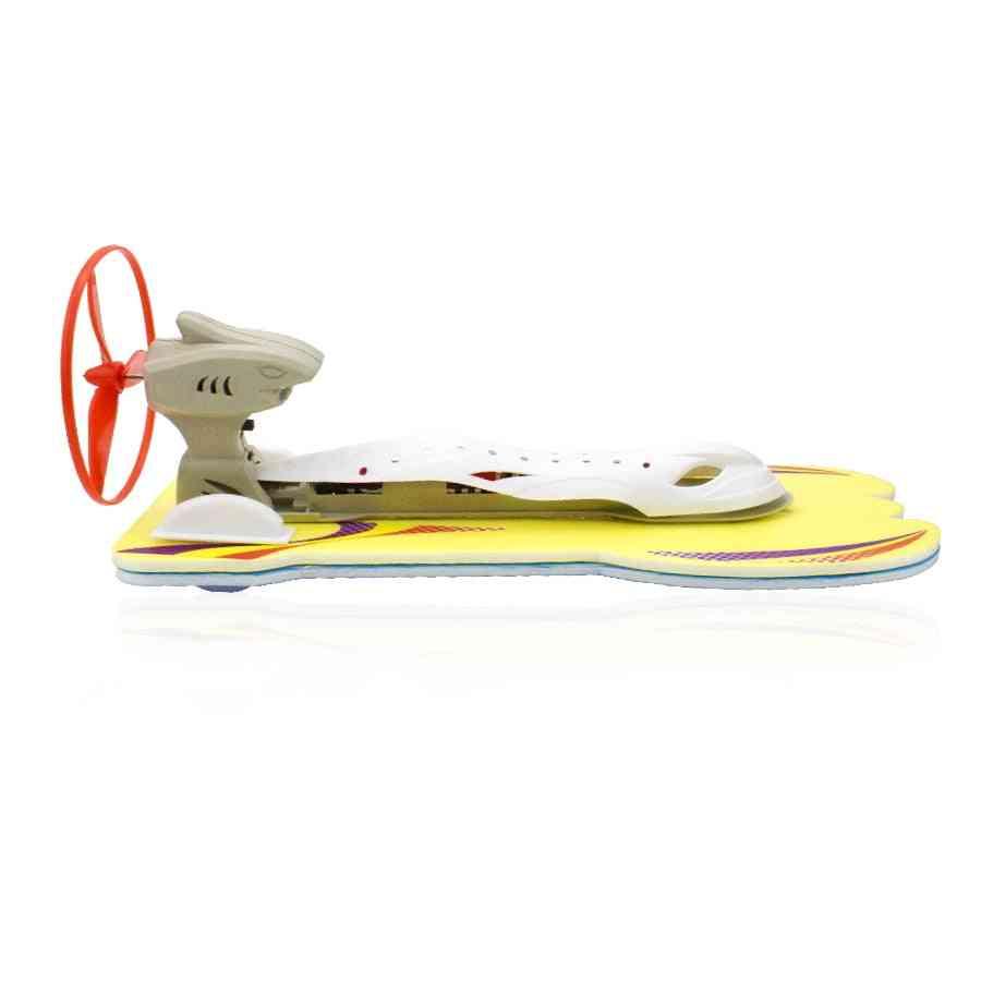 Diy Aerodynamic Speedboat Model Kit- Electric Yacht Assembly Toy For Kids