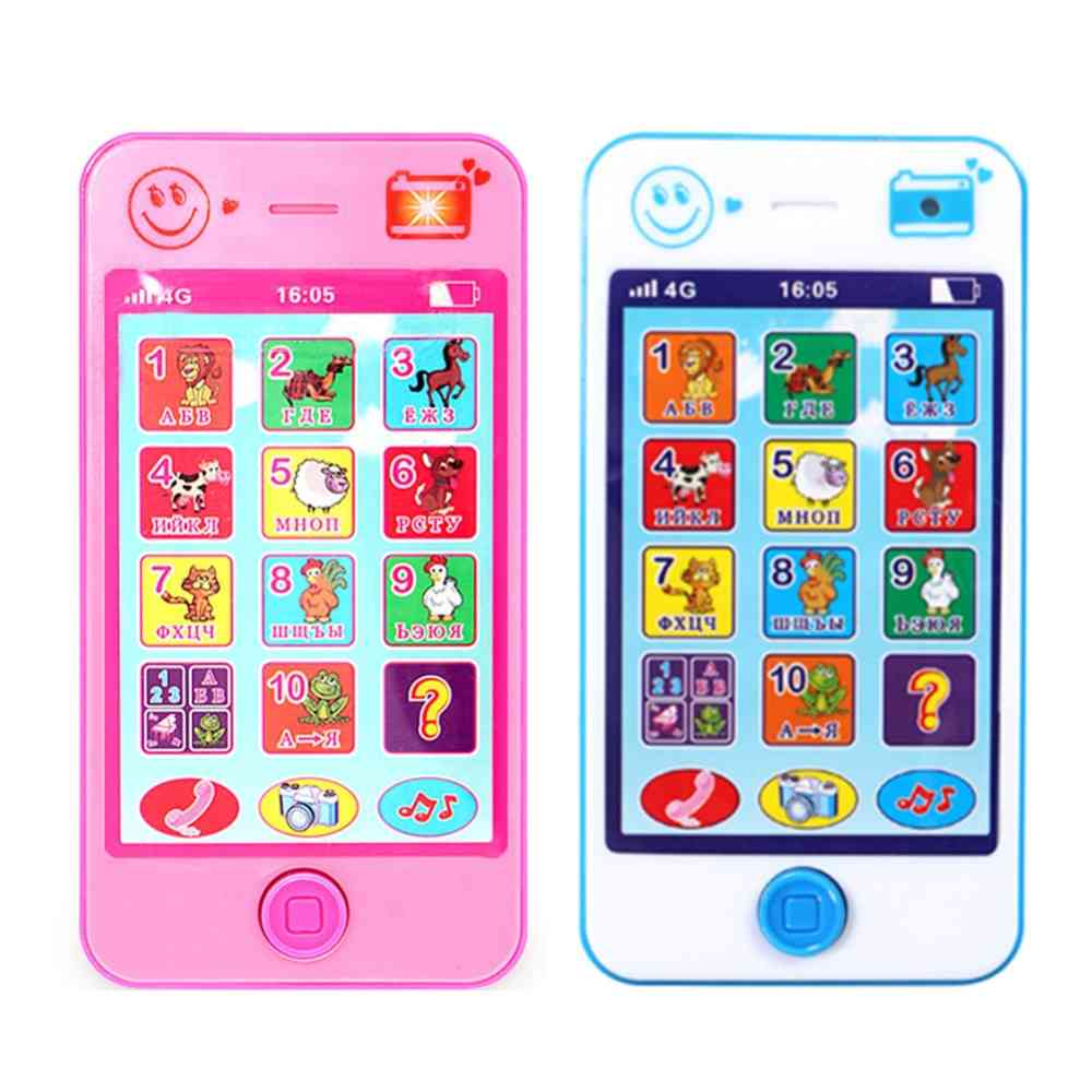 Russian Language Kids Phone For Educational Simulation And Music