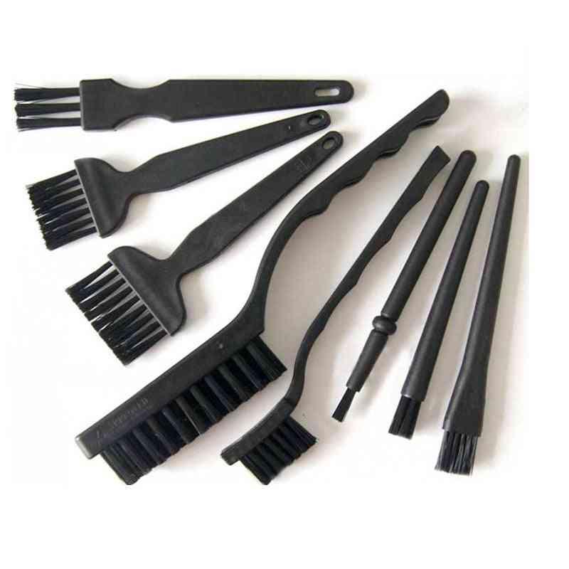 8pcs/set Of Anti Static Brush For Mobile Phone Repair