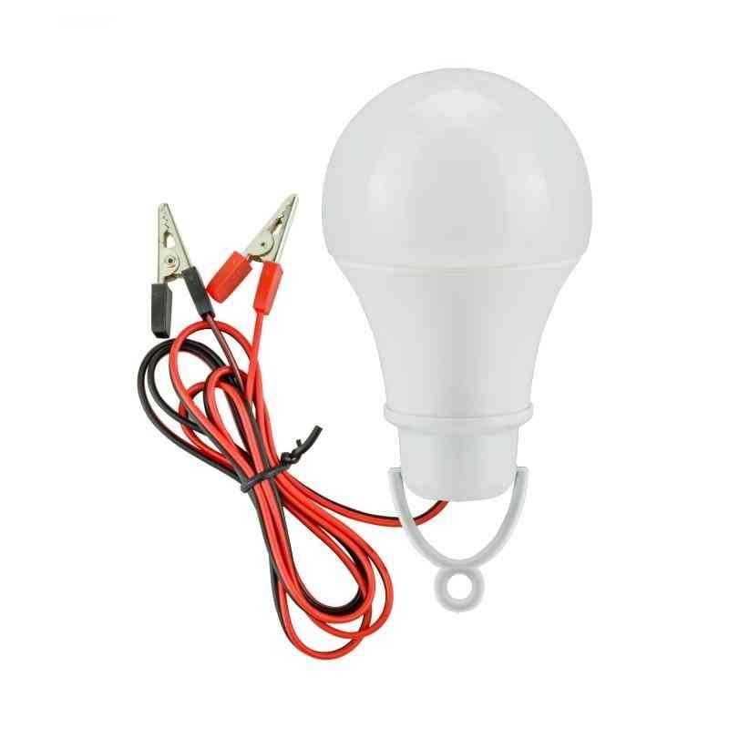 Led Emergency Light, Dc12v Led Lamp -white Low Voltage Bulb