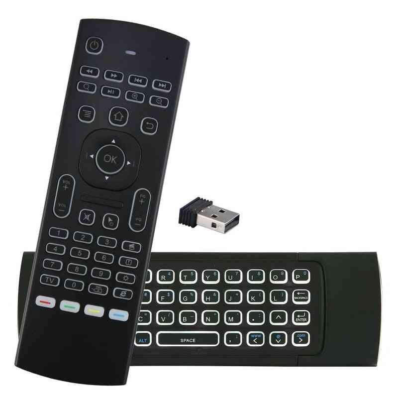 Smart Voice Remote Control 2.4g Rf Wireless Keyboard