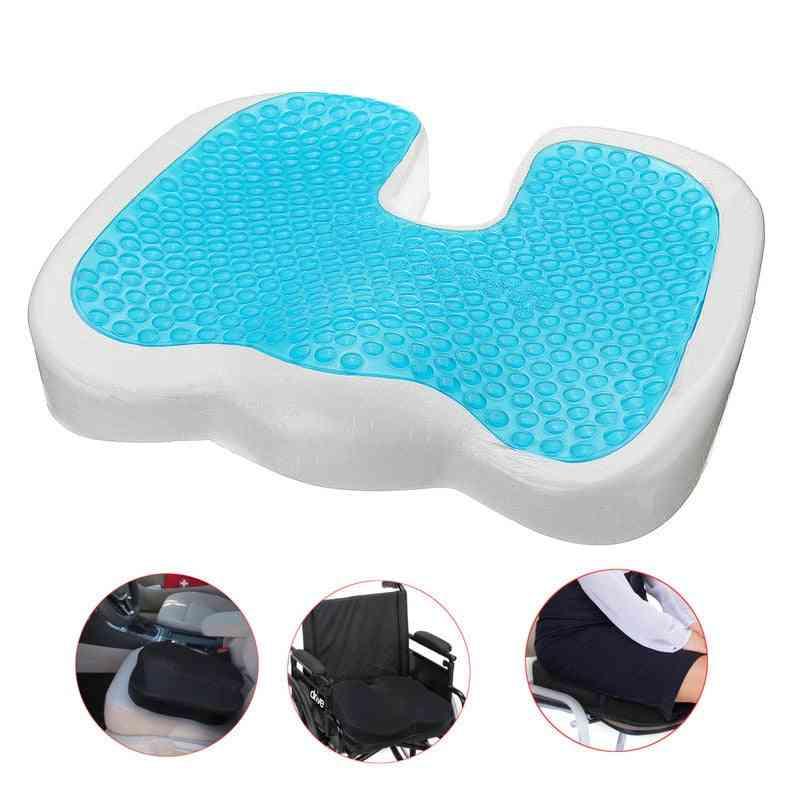 U Shaped, Orthopedic, Memory Gel Seat Cushions With Cooling Effect
