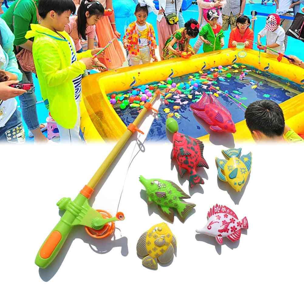 Magnetic Fishing Bath Game Set