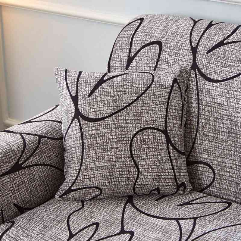 100% Polyester, Strechable Cushion Cover For Sofa, Home, Office