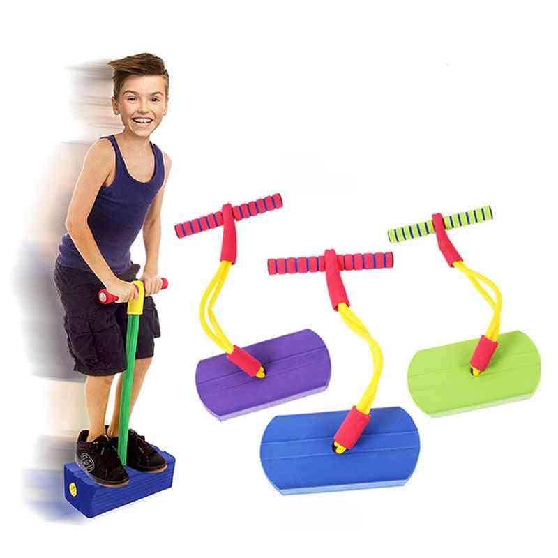 Pogo Stick Kangaroo Jumper Foam Shoes - Outdoor / Indoor Sports