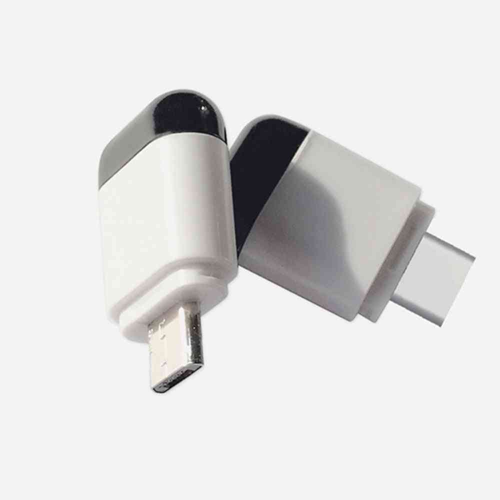 Micro Usb For Type-c Interface And Android-smart App Control